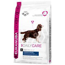 EUKANUBA Daily Care OVERWEIGHT & STERILISED - 12,5 kg