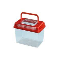 Transportbehälter Ferplast GEO MEDIUM - rot, 2,5L