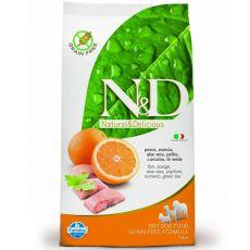Farmina N&D dog GF ADULT Fish & Orange 2,5 kg