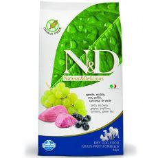 Farmina N&D dog GF ADULT Lamb & Blueberry 12 kg