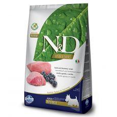 Farmina N&D dog GF ADULT MINI Lamb & Blueberry 7 kg