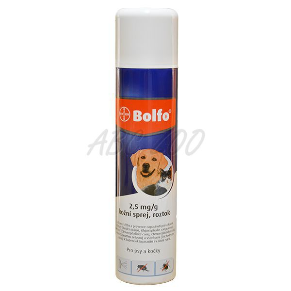 antiparasiten spray bolfo f r hunde und katzen 250 ml abc zoo. Black Bedroom Furniture Sets. Home Design Ideas