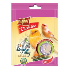 VITAPOL - Mix Vitaline Sing Sing für Vögel, 20 g