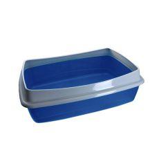 Katzentoilette - blau - 54,5 x 40 x 18 cm