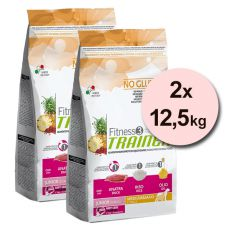 Trainer Fitness3 Junior MEDIUM MAXI - Ente mit Reis 2x12,5 kg