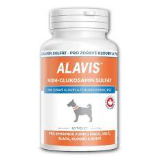 ALAVIS MSM Glukosaminsulfat - für gesunde Gelenke und physische Kondition, 60tbl.