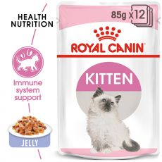 Royal Canin KITTEN Instinctive in Jelly 85 g - Stückchen in Gelee