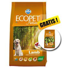 Farmina MO P ECOPET N dog LAMB MINI 12 + 2 kg GRATIS