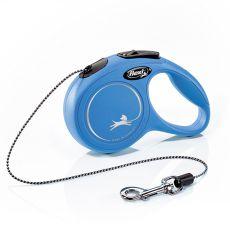 Flexi Leine New Classic XS bis zu 8 kg, 3 m - blau