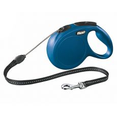 Flexi Leine New Classic M  bis zu 20 kg, 8 m Länge - blau