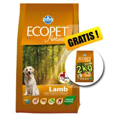 Farmina MO P ECOPET N dog LAMB MAXI 12 kg + 2 kg GRATIS