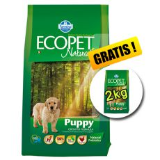 Farmina MO P ECOPET N dog PUPPY MEDIUM 12 kg + 2 kg GRATIS