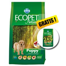 Farmina MO P ECOPET N dog PUPPY mini 12 kg + 2 kg GRATIS