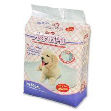 Hygienische Unterlagen für Hunde - 60 x 60 cm, 10+1 GRATIS