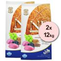 Farmina N&D dog LG ADULT Lamb & Blueberry 2 x 12 kg