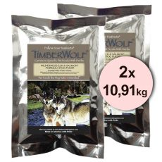 TimberWolf WILDERNESS Elk and Salmon Originals Formula - 2 x 10,91 kg