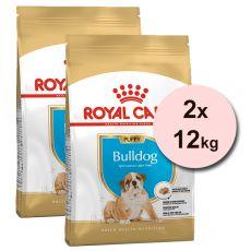 ROYAL CANIN ENGLISCHE BULLDOGGEN JUNIOR - 2 x 12 kg