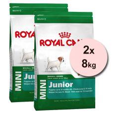 ROYAL CANIN MINI JUNIOR 2 x 8 kg
