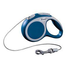 Flexi Vario XS Seil-Leine bis 8kg, 3m Seil - blau