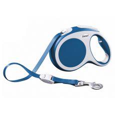 Flexi Vario L Gurt-Leine bis 60kg, 5m Gurt - blau