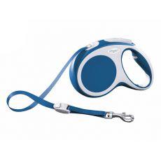Flexi Vario M Gurt-Leine bis 25kg, 5m Gurt - blau