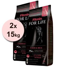 Fitmin FOR LIFE Lamb & Rice 2 x 15kg