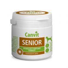 Canvit Senior - Vitaminpräparat gegen Hunde-Alterserscheinungen 100 tbl. / 100 g