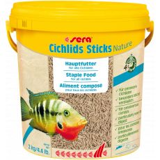 sera Cichlids Sticks Nature 10L / 2kg