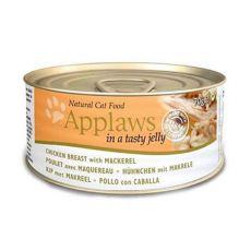 Applaws Cat Jelly - Dose für Katzen mit Hühnerfleisch und Makrele, 70g