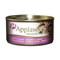 Applaws Cat - Dose für Katzen mit Makrele und Sardinen, 70g