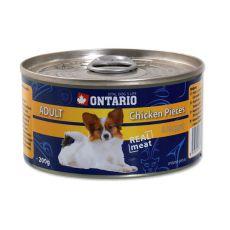Dose ONTARIO Adult für Hund, Hühnerstückchen + Nuggets, 200g