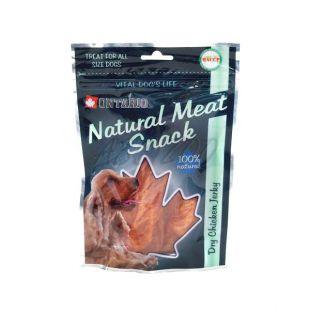 Hühnerchips, getrocknet - Hundesnack ONTARIO, 70 g