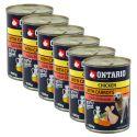 Dose ONTARIO für Hund mit Huhnfleisch, Karotte und Öl- 6x400g