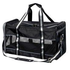 Transporttasche für Hund oder Katze Mick - schwarz, 41 x 26 x 27 cm