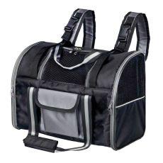 Transportrucksack für Hund oder Katze Marvin - schwarz, 42 x 21 x 29 cm