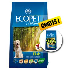 Farmina MO P ECOPET N dog FISH MAXI 12 kg + 2kg GRATIS