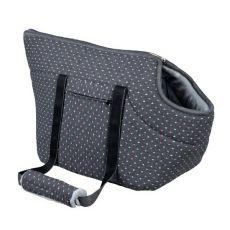 Transporttasche Nane für Hund oder Katze - grau, 56 x 26 x 32 cm