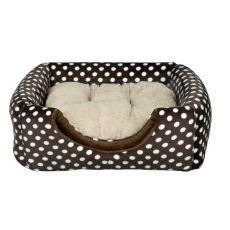 Kuschelhöhle Mina für Hund oder Katze - Braun, 35 x 35 x 35 cm