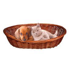Geflochtener Korb für Hund oder Katze - 50 cm