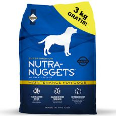 NUTRA NUGGETS Maintenance 15kg + 3kg GRATIS