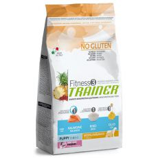 Trainer Fitness3 Puppy & Junior MEDIUM MAXI - fish and rice 12,5 kg