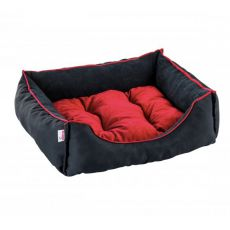 Schlafplatz für Hunde und Katzen SIESTA - schwarz, 60 x 50 cm