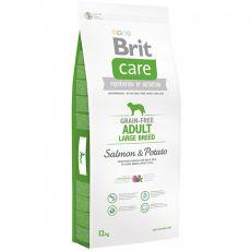 Brit Care Grain-free Adult Large Breed Salmon & Potato 12kg