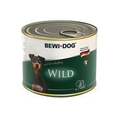 Bewi dog Pâté – Wild, 200g