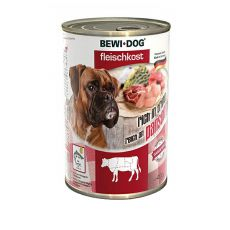 New BEWI DOG Nassfutter– Rindpansen, 400g