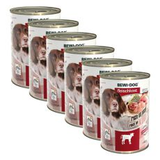 New BEWI DOG Nassfutter – Kalb - 6 x 400g, 5+1 GRATIS