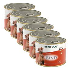 Bewi dog Pâté – Rind - 6 x 200g, 5+1 GRATIS