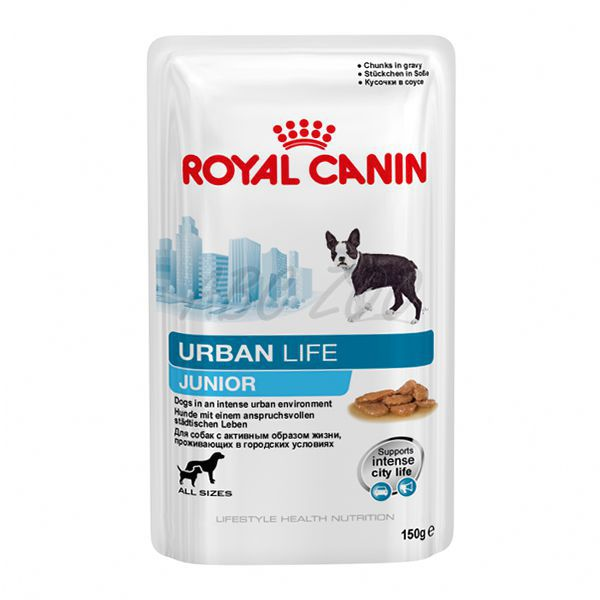 royal canin urban life junior frischbeutel 150g abc zoo. Black Bedroom Furniture Sets. Home Design Ideas