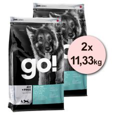 Petcurean GO! Fit + Free, Grain free - 2 x 11,33kg