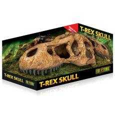 Exo Terra T-Rex Schädel-Versteck - Terrariumdekoration 22 x 9 cm
